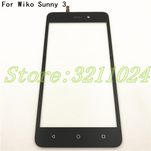 Good quality For Wiko Sunny 3 Touch Screen Digitizer Glass Front Sensor Panel Smartphone Repair Parts