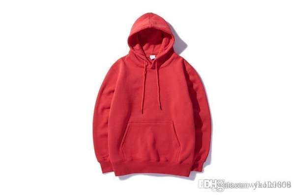 Autumn and winter new original tide brand men's Chinese hip hop color sweater cotton hooded plus cashmere sweater jacket men and women