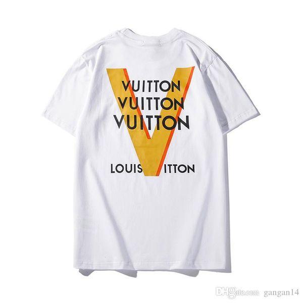 женщины мужчины футболку летом печать одежду Детская одежда XXLLouis Vuitton коротким рукавом Мальчики и девочки майка