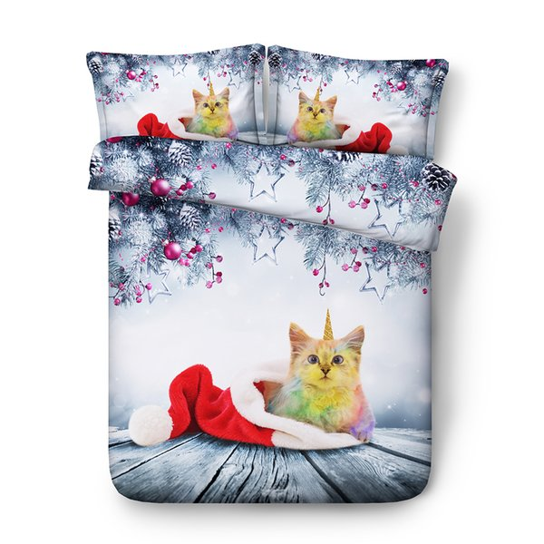 galaxy bedding twin Star bedding queen rainbow duvet cover queen Blue bedspread Green duvet cover king Star bed set Cat unicorn bedding twin