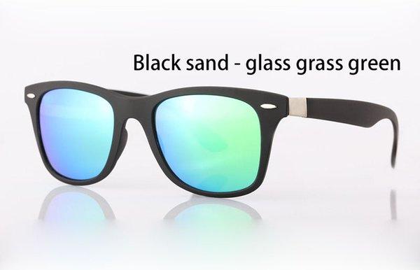 arena negro verde