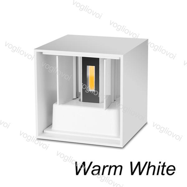7W Warm White(White Lampshape)