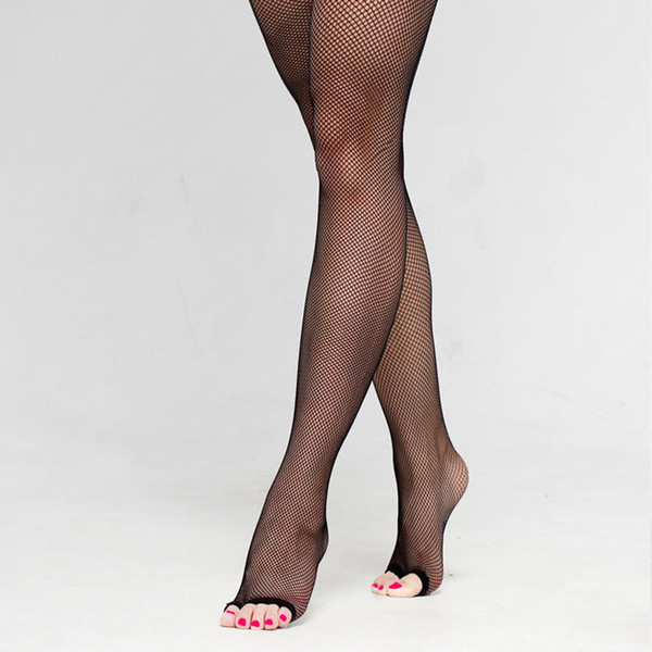 4 Pairs Fashion Dance Practice open toe Sexy Fishnet Pantyhose for Women/female/lady, Dancing tights Clothes accessories ST004