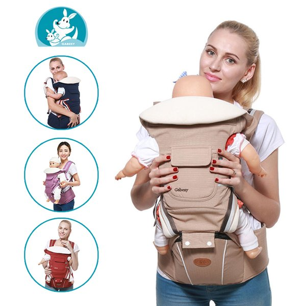 Multifunctional Carrier Ergonomic Baby Sling Backpack 9 In 1 Newborn Infant Carrying Belt For 3-36 Months Y190522