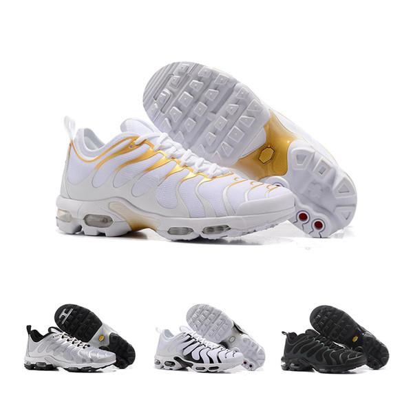 2019 Blanco Plata Negro Zapatos Hombres Mujeres Para Correr Zapato Masculino Deporte Choques Corsos Senderismo Correr Al Aire Libre Zapatos 7-11