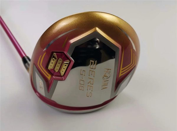 Honma S-06 Driver Honma S-06 Golf Driver Women Golf Clubs 11.5 Degree Graphite Shaft With Head Cover