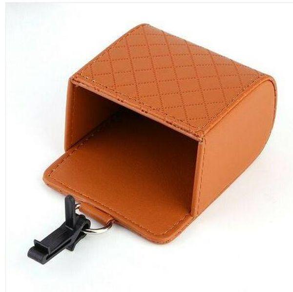 top popular Car Universal Storage Pouch Bag Phone Mod Sun Glass Box Holder Pocket Organizer 2021