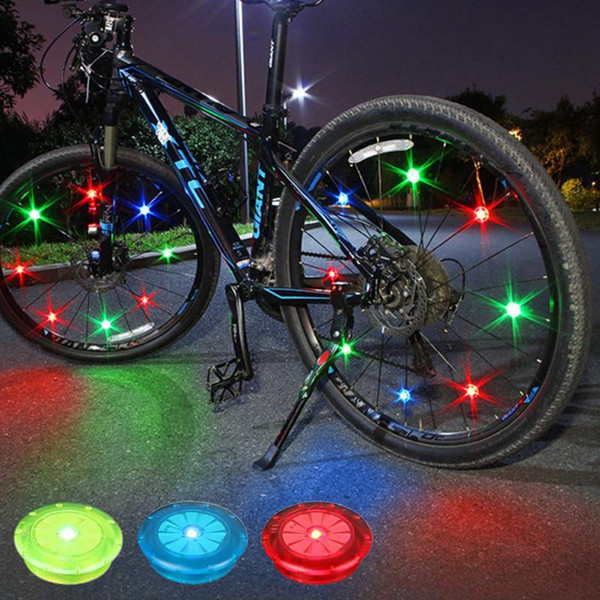 Weimostar Multi-Color Bike Bicycle Cycling Wheel Tire Tyre LED Flash Lamp Bicycle Spoke Safety Warning Light Accessories