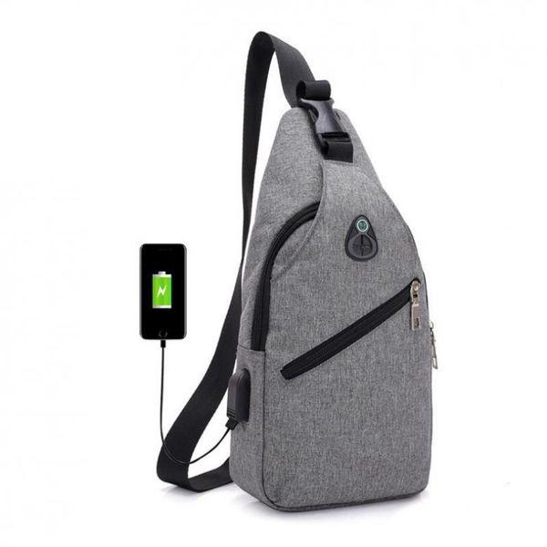 Male chest Bag Fashion Leisure Waterproof Man Oxford Cloth Korea Style Messenger Shoulder waist Bag For Teenager Bag MMA1361