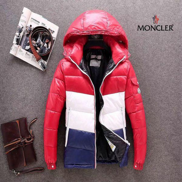Adam Gevşek Coat Artış Aşağı Kalınlaştırıcı Erkekler Pamuk dolgulu Giyim 2018 Kış mens ceketler rüzgarlıkları 0031