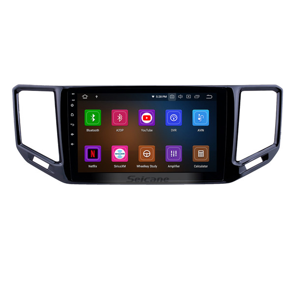 10.1 inch Android 9.0 GPS Navigation Radio for 2017-2018 VW Volkswagen Teramont with Bluetooth HD Touchscreen AUX USB WIFI Carplay Car Dvd