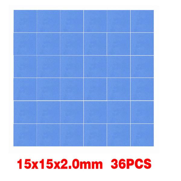 36PCS 15x15x2.0mm