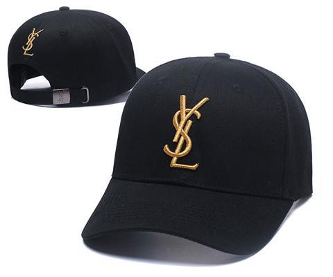 6a11a888085 2019 france spring&summer baseball cap men women outdoor designer hats Y S L  letter adjustable hip-hop