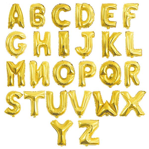 Lettera d'oro casuale