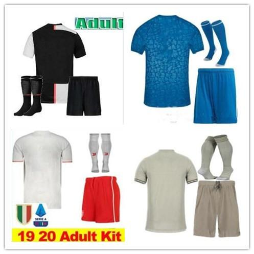 2019 2020 JUVENTUS kit maglia calcio 18 19 20 DYBALA HIGUAIN MANDZUKIC D. Costa BUFFON RONALDO uniforme da calcio