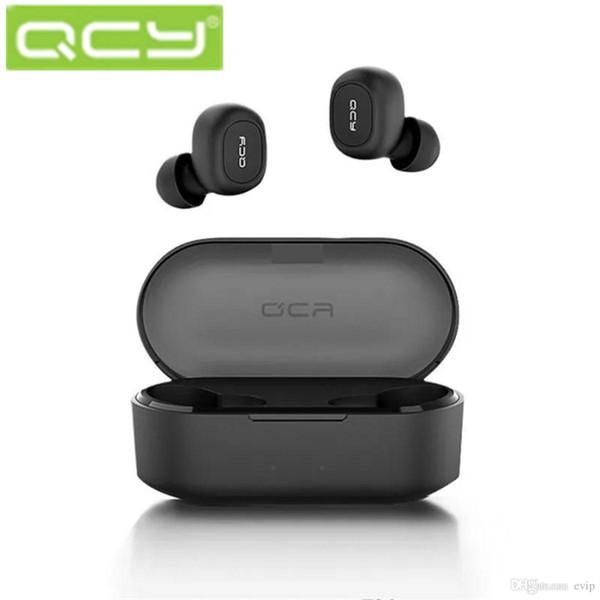 Promotion 2019 QCY T2C Bluetooth наушники Правда беспроводной стерео гарнитуры для мобильных телефонов Наушники