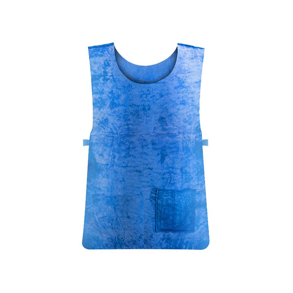 New Summer Sunstroke Prevention Supplies Ice Cooling Waistcoat Vest High Temperature Protective Clothing for Outdoor Sport Work