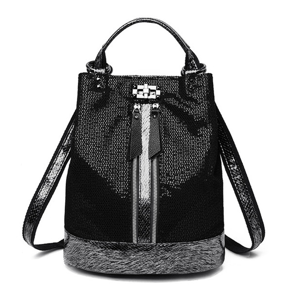 Leather Backpack Women Shoulder Bag Mochila Feminina Back Pack Female Travel Backpack Girls Schoolbag Women Bags