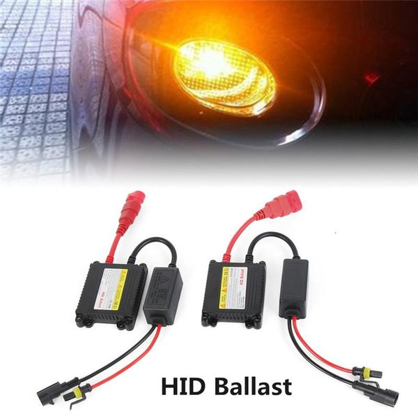 Kit di conversione 2PCS / Set universale xeno 12V 55W Car Digital Slim Ballast HID Ballast faro dell'automobile lampadine di ricambio