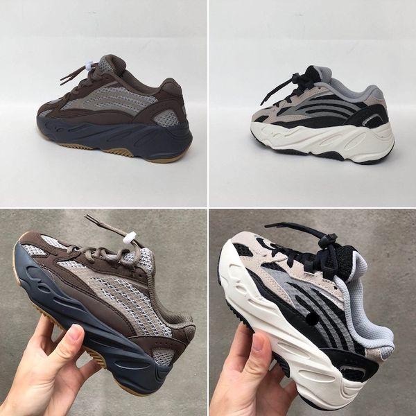 Adidas Yeezy 700 Новейшая детская обувь Wave Runner 700 Style Kanye West Кроссовки Girl Boy Trainer Кроссовки Детская спортивная обувь