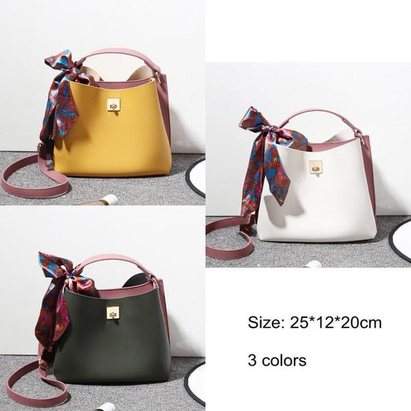 2018 весна лето лента ведро сумочка женская мода Bolsa женская сумка через плечо сумки для девочек женщин искусственная кожа сумка