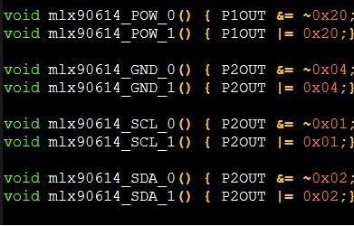 top popular MLX90614 Digital Infrared temperature measurement src Code MCU MSP430 Src Code Mlx90614 Src code 2020