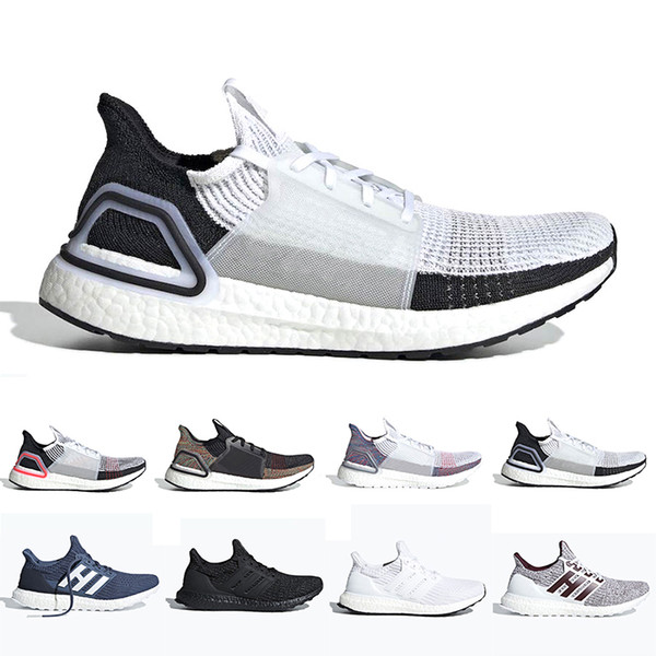 2019 Ultra Boost 4.0 Men Women Running Shoes 19 Ultraboost Laser Red Oreo Core Black Dark Pixel Refract Best New Sport Sneaker Running Sneakers Racing