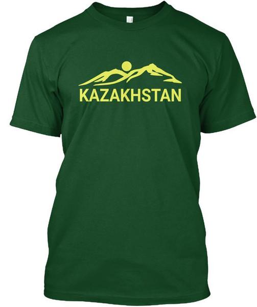 Kazakistan - Popüler Tagless Tişört