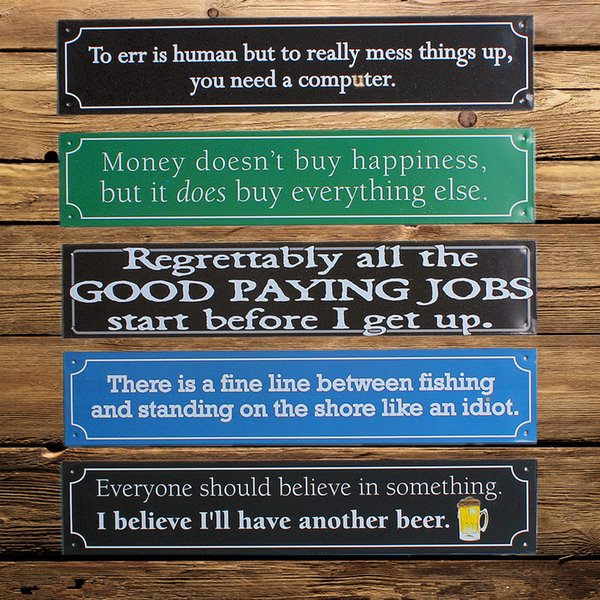 1PCS European Style Vintage Tin Sign Home Bar Club Decorative Retro Wall Poster Hanging Plates Metal Painting