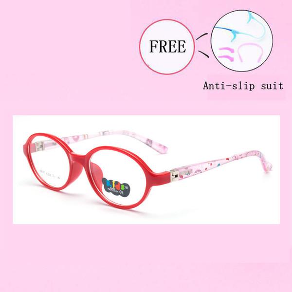Marka Çocuk Gözlük Çerçeve Esnek Güvenli Gözlük Miyopi Reçete Optik Çerçeveleri Çocuk Gözlük Kız Erkek Y8801-25