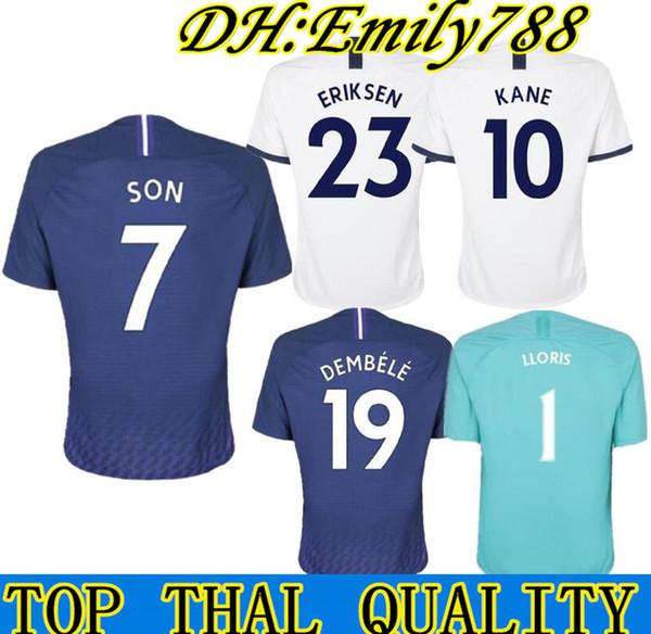 2019 KANE spurs Soccer Jersey 2018 2019 2020 NDOMBELE LLORENTE ERIKSEN DELE SON jersey 19 20 Football kit shirt Men and KIDS KIT SET uniform