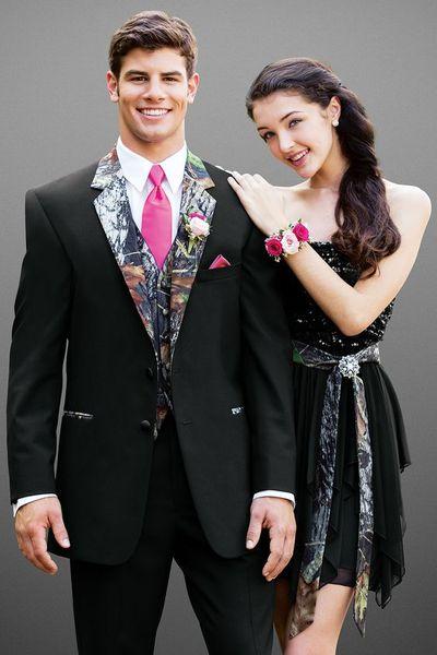 Black Groom Tuxedos Camouflage Notch Lapel Men Wedding Dress Handsome Men Business Dinner Prom Blazer 3 Piece Suit(Jacket+Pants+Tie+Vest)122