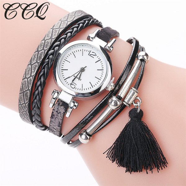Frauen Armbanduhr Art und Weise analoge Quarz-Kleid-Armband-Uhren Relogios Femininos montre femme marque de luxe 2019 uhren damen