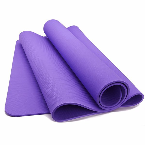 6MM Yoga Mats Anti-slip Blanket EVA Gymnastic Sport Health Lose Weight Carrying Straps Fitness Foam Pad