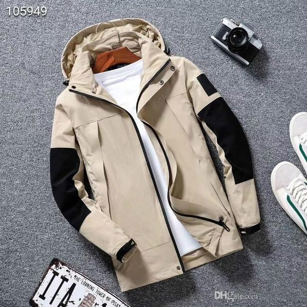 Mens конструктора пальто куртки нового производства с капюшоном куртки с Letters Ветровка на молнии Толстовки для мужчин SPORTWEAR Топы Одежда