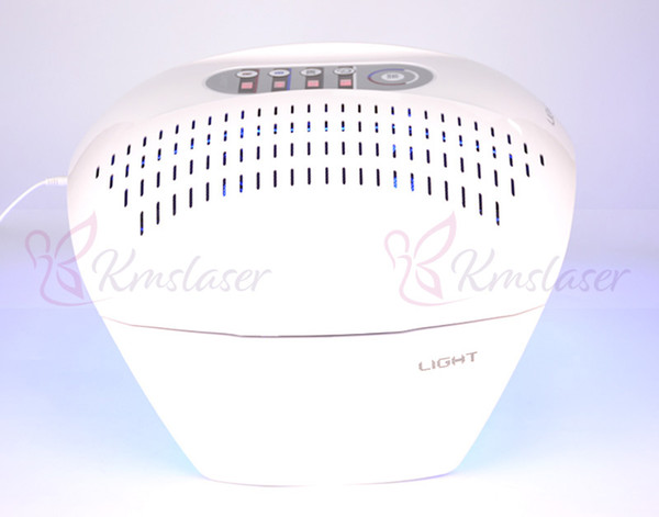 4 light colors 640nm red 430nm blue 830nm infrared light photo facial led light therapy anti aging acne removal pigment removal machine