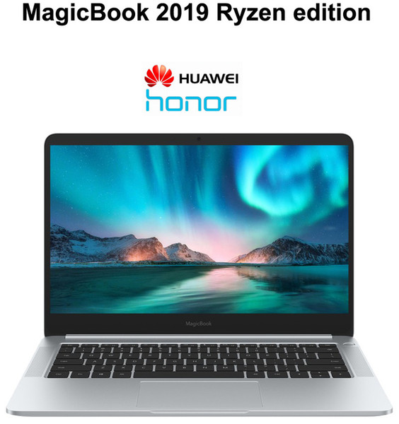 2019 New Arrival Laptop HUAWEI HONOR MagicBook Notebook PC 14 Inch With AMD CPU Max 3.7GHz 8GB DDR4 Ram 512GB HD