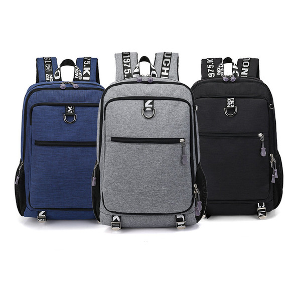 15 15.4 15.6 inch with USB interface Laptop Notebook Bags Backpack Case for Men Women School Travel Student