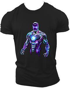 Hip hop Avengers Infinity War End Game Marvel Endgame Unisex T-Shirt Neon07
