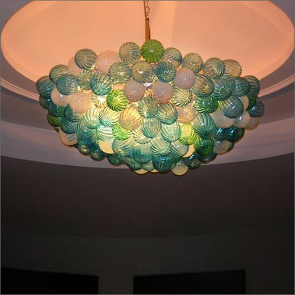 Big Sale Chihuly Style Hand Blown Glass Crystal Chandelier Warranty Colorful Hand Blown Murano Glass Ceiling Lights for Livingroom