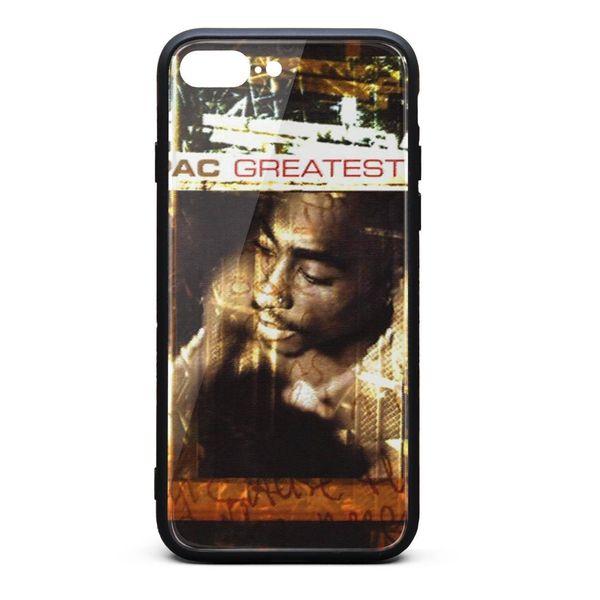 IPhone 8 Plus Case iPhone 7 Plus Case 2pac greatest hits nice anti-scratch TPU Soft Rubber Silicone Cover Phone Case