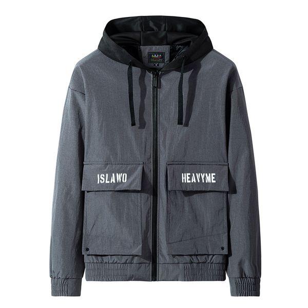 gabardinas de diseñador para hombre 2019 otoño invierno chaqueta rompevientos para hombre abrigo deportivo con capucha chaquetas de diseñador para hombre