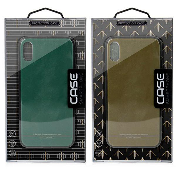 Universalkleinpaketkasten für iphone XS MAX XR X 6S 7 8 plus Handyfallpapierkartenkastenverpackung-Telefonabdeckung für Samsung S8 S9 PLUS