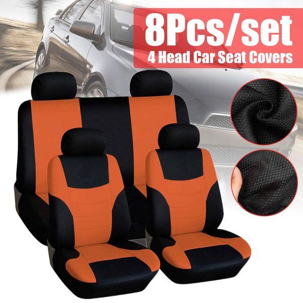 Fundas para asientos negra para volvo s60 coche asiento delantero de referencia