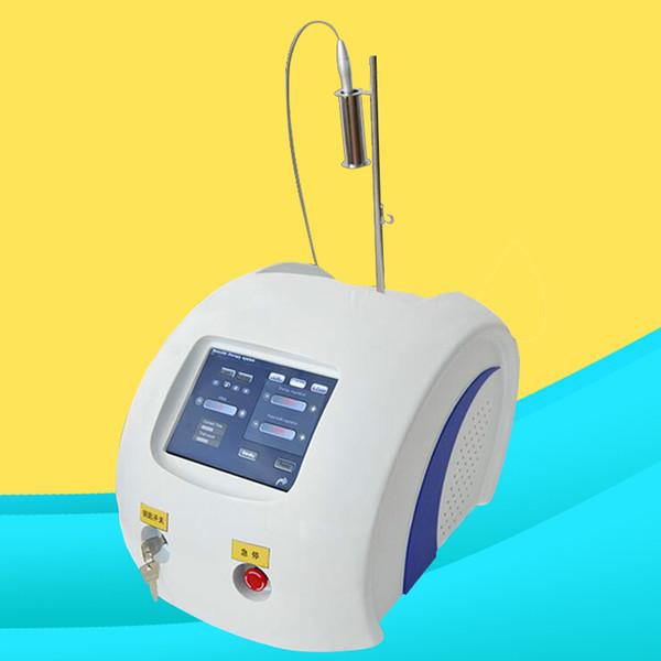 Aranha veias de escleroterapia ou de melhor tratamento laser que laser de