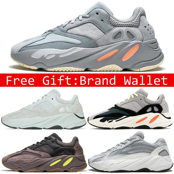 700 Dalga Runner Ayakkabı Erkekler Kadınlar Tephra Atalet Leylak Statik Tuz Geode Siyah Beyaz Kanye West Tasarımcı Spor Sneaker Boyut 36-45 Koşu