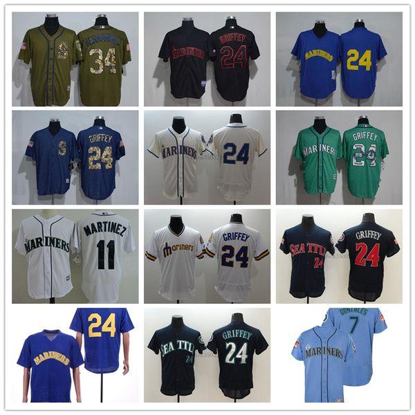 new product 93f65 8ddd6 2019 Mens Custom Mariners Jersey Ryon Healy Ichiro Suzuki Felix Hernandez  Yusei Kikuchi Mitch Haniger Dee Gordon Kyle Seager Baseball Jerseys From ...