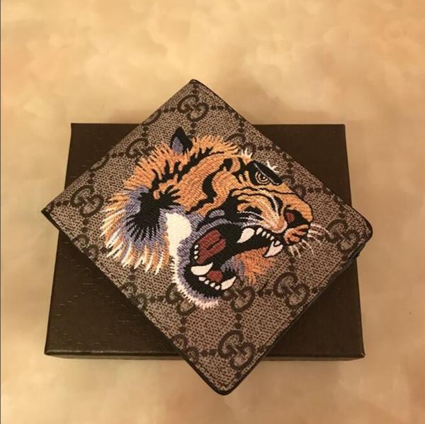 Monedero tigre X13 G Brown