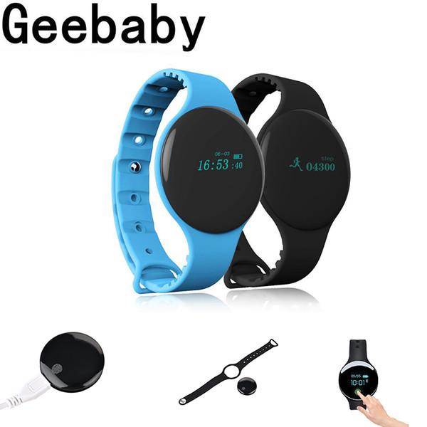 Reloj del deporte de pulsera inteligente H8 pulseras Bluetooth registro de sueño para el iPhon Huawei Xiaomi IOS Android por mayor reloj inteligente