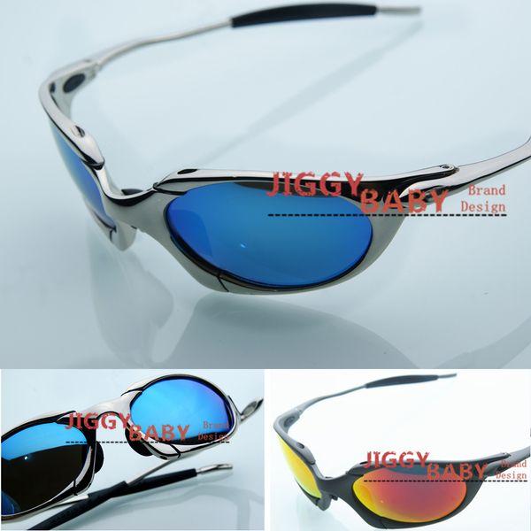 Top Marca Romeo óculos polarizados X-Metal Sports alumínio Iridium Ice Ruby Red Homens Mulheres Equitação Driving Ciclismo espelho da cor da alta qualidade